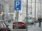 Parkování na náměstí T. G. Masaryka ve Dvoře Králové nad Labem