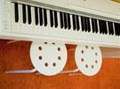 """Nové """"pianino"""" pro hudebně nadané sourozence"""