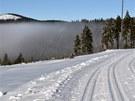 V areálu Bretterschachten se projedete po perfektně vyfrézovaných lyžařských