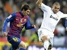 TUDY NEPROJDE�. Pepe z Realu Madrid chce zbavit m��e barcelonsk�ho Lionela