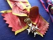 Čestný kříž knížectví Lippe z trezoru s řády a medailemi na zámku v Náchodě