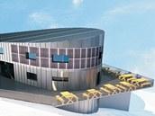Podle Terezy Pecárové by nová Labská bouda mohla půdorysně vypadat jako oblázek.