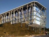 Tadeáš Kopča by střechu Labské boudy pokryl pochozí trávou, skelet skleněnými