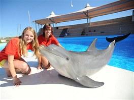 LAL Malta studentky delfin