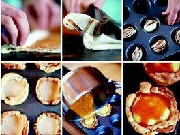 Postup přípravy portugalských koláčků