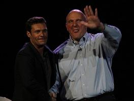 Steve Ballmer se loučí s Las Vegas.