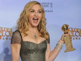 Madonna vyhrála Zlatý glóbus.
