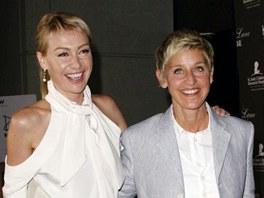Ellen DeGeneresová a Portia de Rossi