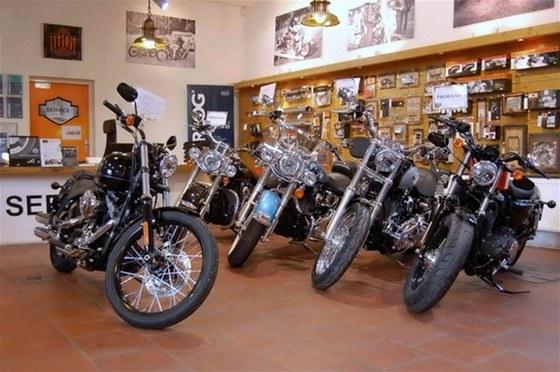 Navštivte Harley-Davidson bazar v Praze2