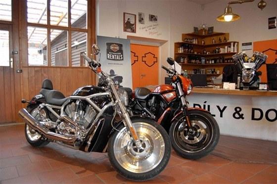 Navštivte Harley-Davidson bazar v Praze1