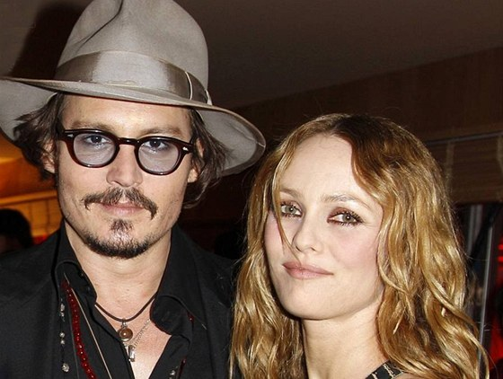 Johnny Depp a Vanessa Paradis