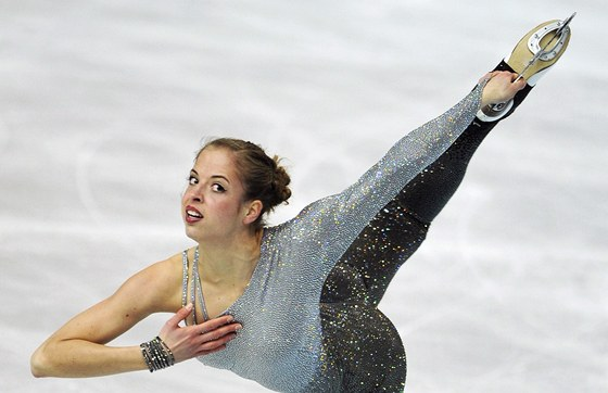 Italsk krasobruslaka Carolina Kostnerov  ve voln jzd na mistrovstv