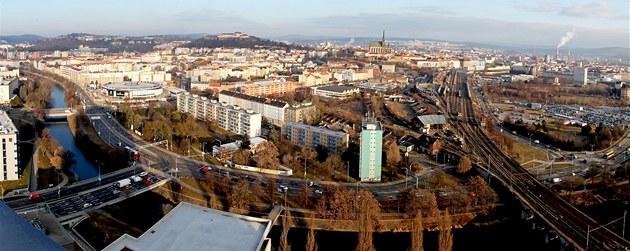 Na jaře roku 2012 by měla nejvyšší budova v Brně - s výškou 85 metrů je to