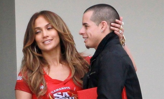 Jennifer Lopezová a Casper Smart