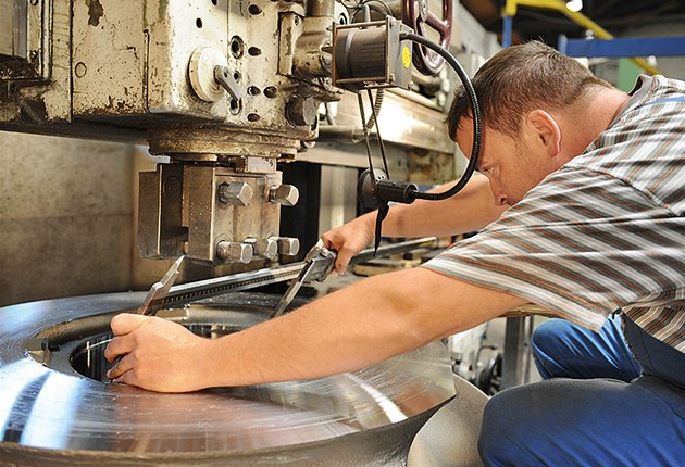 Výrobní hala Siemensu