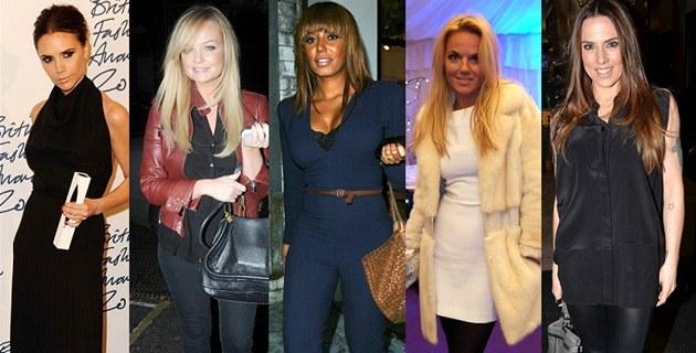 �lenky skupiny Spice Girls po 5 letech od posledního vystoupení