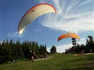 paragliding - Těšínské Slezsko