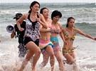 Zatímco v pekingském sídle školy pro osobní strážkyně trénovala jedna skupina