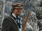 Poctivé dřevo. Závod na jasankách v Olešnici v Orlických horách (21. ledna 2012)