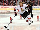 S �SM�VEM. Milan Mich�lek p�i dovednostn�ch sout��ch Utk�n� hv�zd NHL.