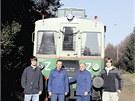 Jediný pojízdný exemplář slavného motoráku M 120.4 v Česku se nachází v...