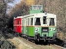 Jediný pojízdný exemplář slavného motoráku M 120.4 v Česku se nachází v