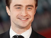 Daniel Radcliffe na světové premiéře filmu Žena v černém (Londýn, 24. ledna
