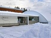 Hokejová hala v Námestově na Slovensku. (23. ledna 2012)