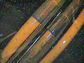 Záběr z kontejnmentu zachycuje blíže neurčené a vlastně nedůležité potrubí.