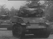 Průzkum zajišťovaly lehké tanky M5 Stuart