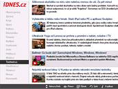 Zpravodajství z iDNES.cz nyní i ve vašem televizoru Samsung.