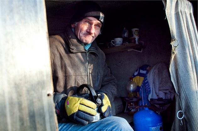 """""""To ještě není zima,"""" konstatuje Venca a hned přidává historku, jak v Kanadě..."""