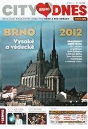 Titulní strana prvního čísla magazínu City Brno