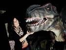 Expozice Dinoparku v Liberci