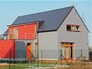 Tvar střechy bez přesahů, užívaný pro nízkoenergetické domy. Minimální počet
