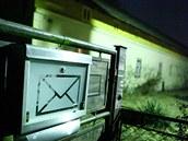 Domek v Lípě nad Orlicí, kde bydlel muž obviněný z trojnásobné vraždy.