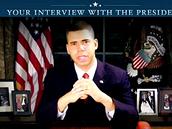 Obamův populární imitátor Reggie Brown je podle prezidenta skvělým důkazem