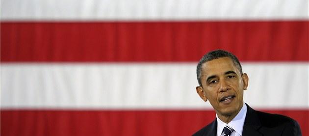 Americký prezident Barack Obama (6. února 2012)