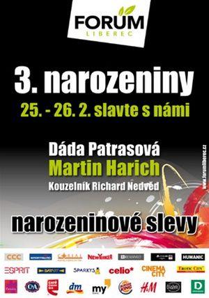 3. narozeniny FORUM Liberec