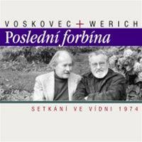 Voskovec+Werich: Poslední forbína (obal)