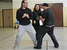 Vězni z Ostravy zkoušejí scénický tanec, v březnu vystoupí v divadle. (8. února