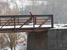 Most v Kuksu, ke kterému se nikdo nehlásil.