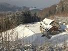 Skiareál Hartman v Olešnici v Orlických horách