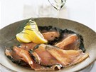 Norský syrový losos gravlax také není lahůdkou pro každého.