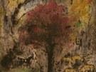 Bohuslav Reynek: Pastva na podzim