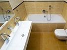 V koupelně ubyl bidet, ale přibylo dvojumyvadlo.