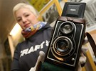 Fotoaparát Flexareta, kterým H+Z na své první cestě nafotili téměř 5 000 snímků.