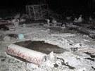 Ve čtvrtek v noci hořela u obce Branice na Písecku největší plnírna plynu na