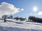 Boule na dětských sjezdovkách potěší malé lyžaře.
