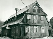 Škola č.p. 148 v jablonecké části Kokonín byla cennou ukázkou lidové